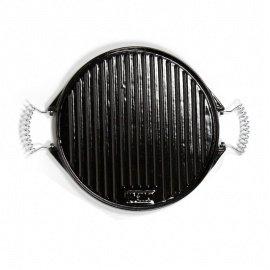 Plancha esmaltada de hierro fundido 42 cms - 10 comensales